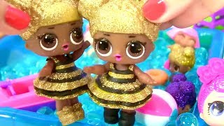Мультик Куклы Лол! Вечеринка Блестящих Лол! Босс Молокосос спасает Детский сад от Продуктовой Банды