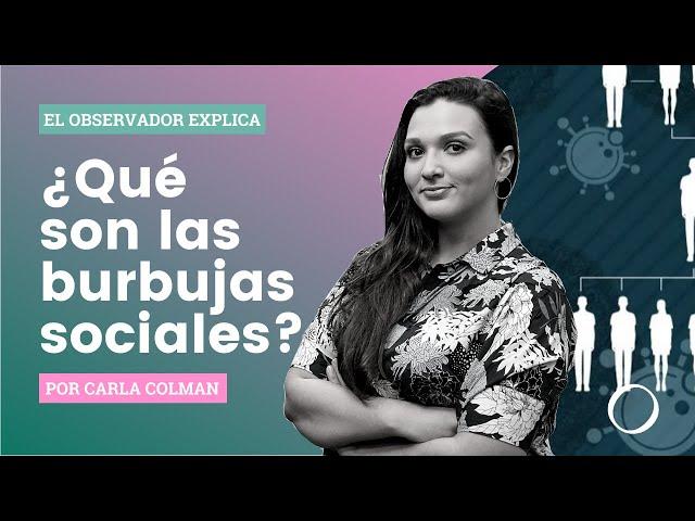 EL OBSERVADOR Explica: ¿Qué son las burbujas sociales?