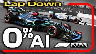 How Slow Is 0% AI on the F1 2020 Game? - Can We Beat Them A LAP DOWN?!