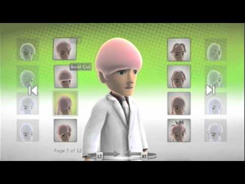 Xbox 360 Avatar Easter Egg(Unlock all hair and color styles) - YouTube