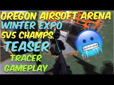 Airsoft Quickie: OAA Winter Expo 2019 5v5 Tournament Teaser (The Airsoft Life #57)