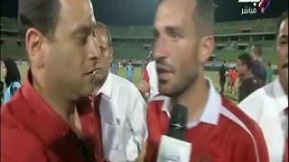 بالفيديو.. أول تعليق من سعد سمير بعد فوز الأهلي على إنبي
