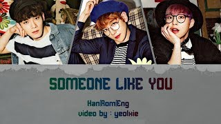 EXO-CBX (첸백시) -'SOMEONE LIKE YOU' [라이브 Live OST. Part 1] Color Coded Lyrics [Han|Rom|Eng]
