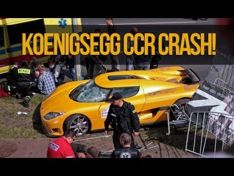 Koenigsegg CCR Crash @ Gran Turismo 2013 Poznań Wypadek
