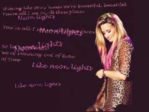 Demi Lovato - Neon Lights lyrics