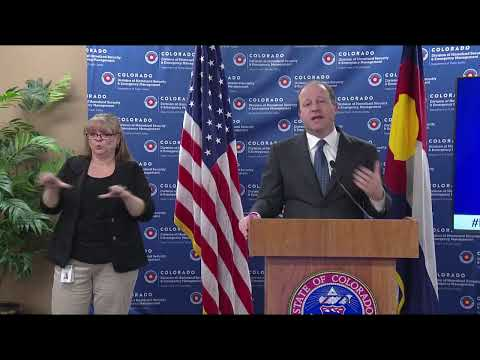 Colorado Governor To Provide Update On State's COVID-19 Response