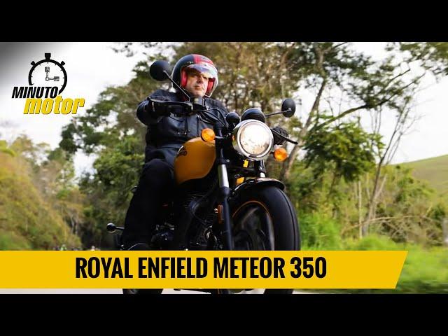 Meteor 350: arroz com feijão bem temperado