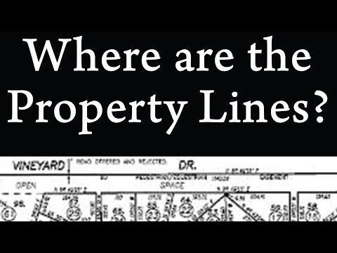 Prince Edward Island surveys survey plot plan deed property lines confirmed pin