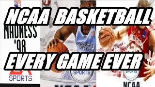 NCAA BASKETBALL EVOLUTION HISTORY (1998 - 2009)