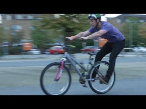 Bicycle trick shot! thumbnail
