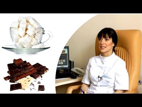Как сахар влияет на кожу