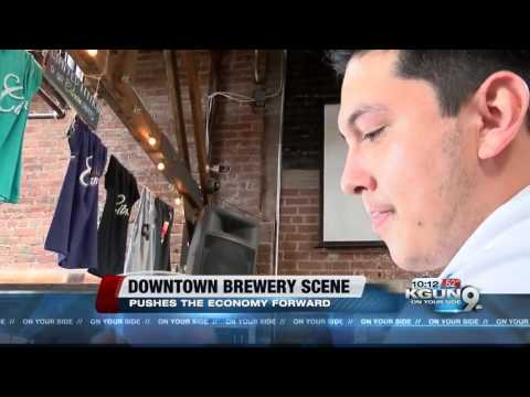 """Brew scene"" helping out downtown Tucson economy"