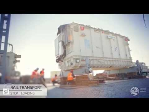 Geodis - Transport multimodal de colis hors normes