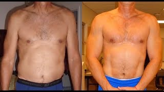 Testosterone Weight Loss Case Study with Before and After Pictures