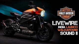 THIS IS THE FUTURE | HARLEY-DAVIDSON LIVEWIRE in INDIA | Walkaround and SOUND