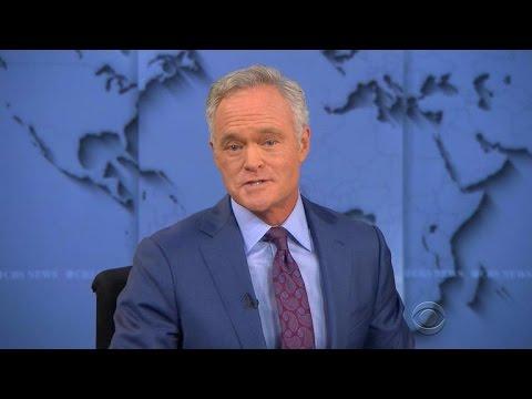 "Scott Pelley signs off from the ""CBS Evening News"""