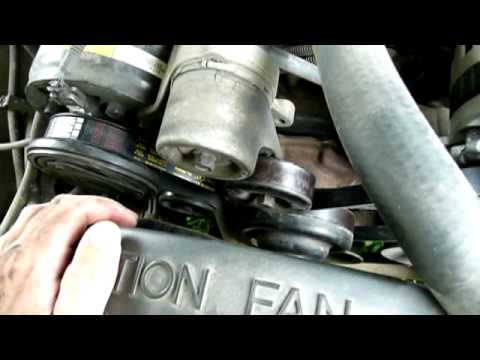 fixing the serpentine belt 1994 chevrolet c1500
