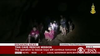 Watch Now: Thai Cave Rescue Underway
