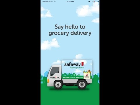 Safeway Delivery l Grocery Haul