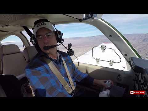 Flight VLOG - Flight In The Bonanza From Big Bear To Bermuda Dunes - Full Length