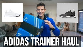HUGE UNBOXING HAUL & TRY ON (Adidas Swift Run, Adidas NMD R1, Asos, Myprotein)