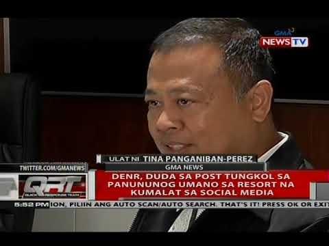 Paliwanag ng DENR sa video ng pagpapatag ng bundok sa Boracay; 1 buwan nang walang konstruksyon doon