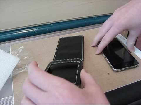 ipod Touch 2G Flip Leather Case from YouTube · Duration:  1 minutes 37 seconds