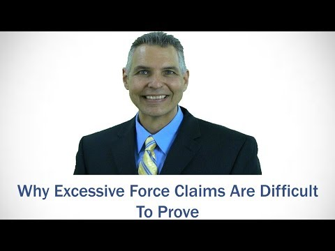 Why excessive force claims are difficult | Leesburg FL civil rights lawyer