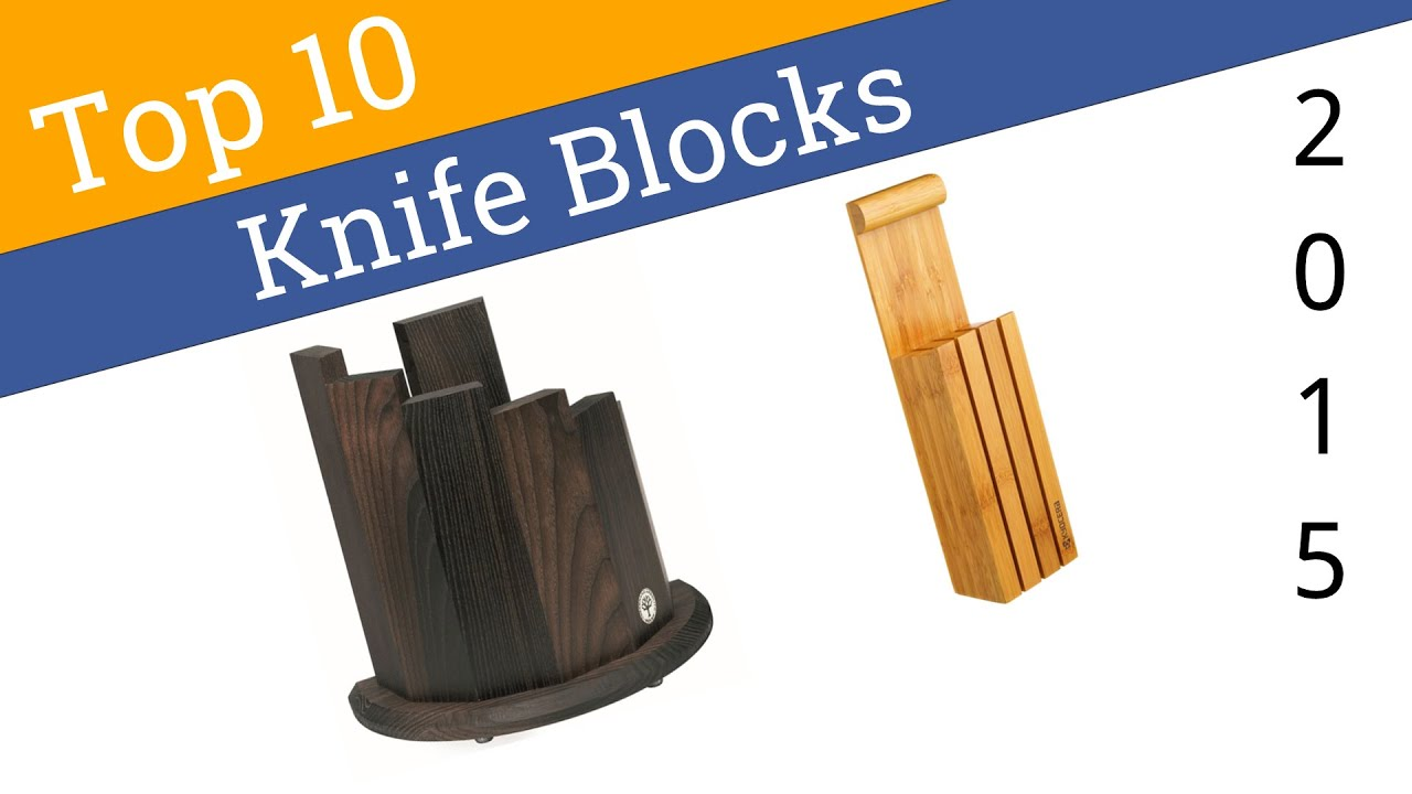 10 Best Knife Blocks 2015 - YouTube