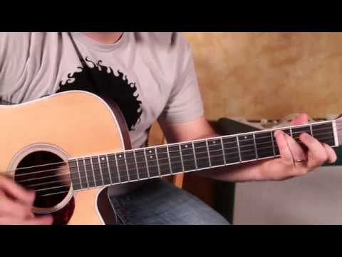 Comment jouer Johnny Cash sur Acoustic Guitar Jackson  Tutorial