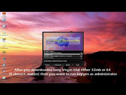 keygen sony vegas pro 9 free