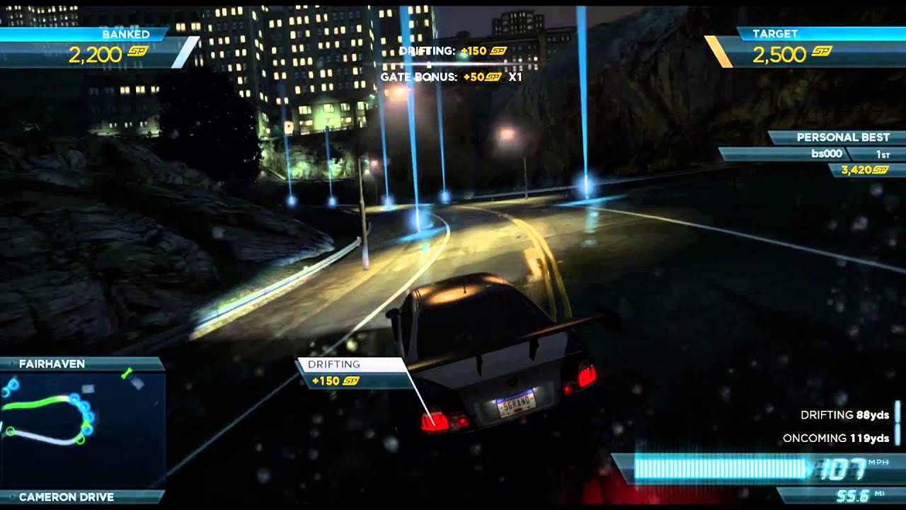 Need For Speed Most Wanted 2012 Achievement Guide Road Map