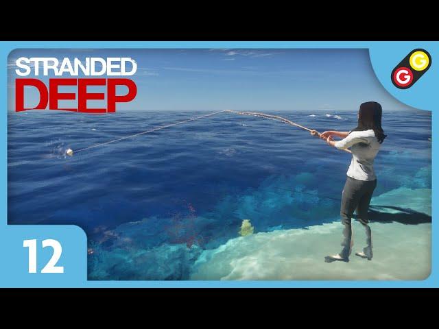 Stranded Deep en multi #12 Chasse et pêche ! [FR]