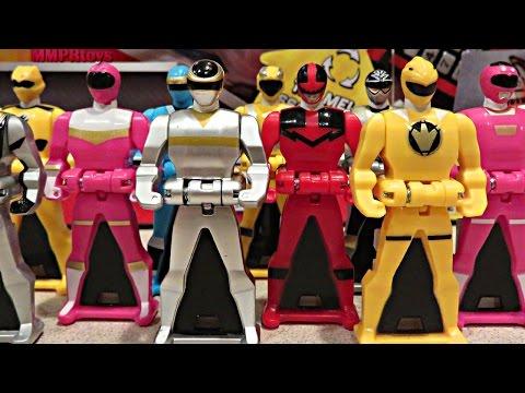 NEW Ranger Keys! Quantum Ranger, Yellow Dino Thunder, In Space Silver!