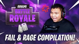 OOHAMI Rage & Fail Compilation! - (Fortnite Malaysia) Battle Royale Gameplay