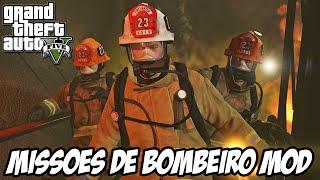 GTA V - Missões de Bombeiro MOD
