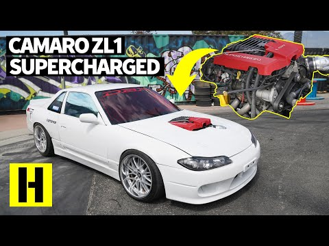 Two Cars, ONE Burnout King Winner: 730HP 240SX AND a Ford Mustang Vert Come to Party!