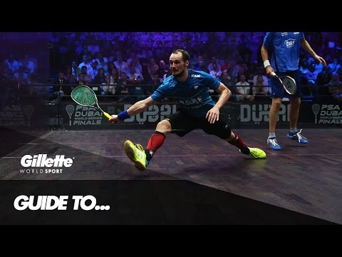 Gregory Gaultier's Guide to Squash | Gillette World Sport