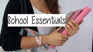Repeat youtube video My School Supplies Haul & Essentials