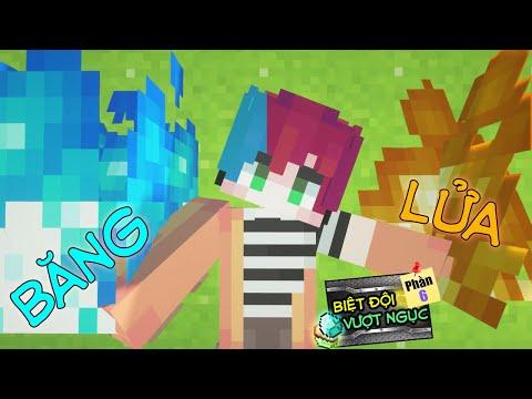 Minecraft Biệt Đội Vượt Ngục (Phần 6) #11- ISSAC THỨC TỈNH SỨC MẠNH MỚI - COMBO BĂNG LỬA 🔥 vs ❄️