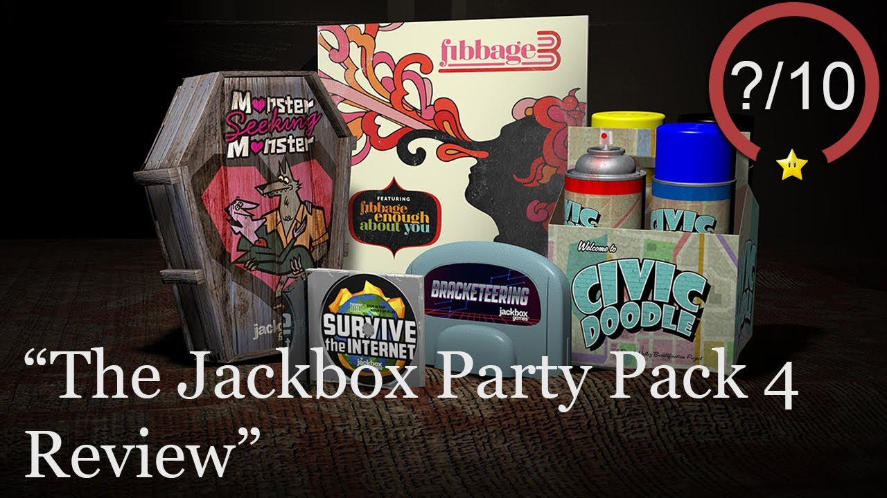 The Jackbox Party Pack 4 Review [PS4, Xbox One, & PC] (Video Game Video Review)