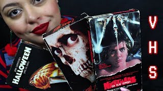 ASMR| Horror Movie Collection - VHS Edition (Part 1)