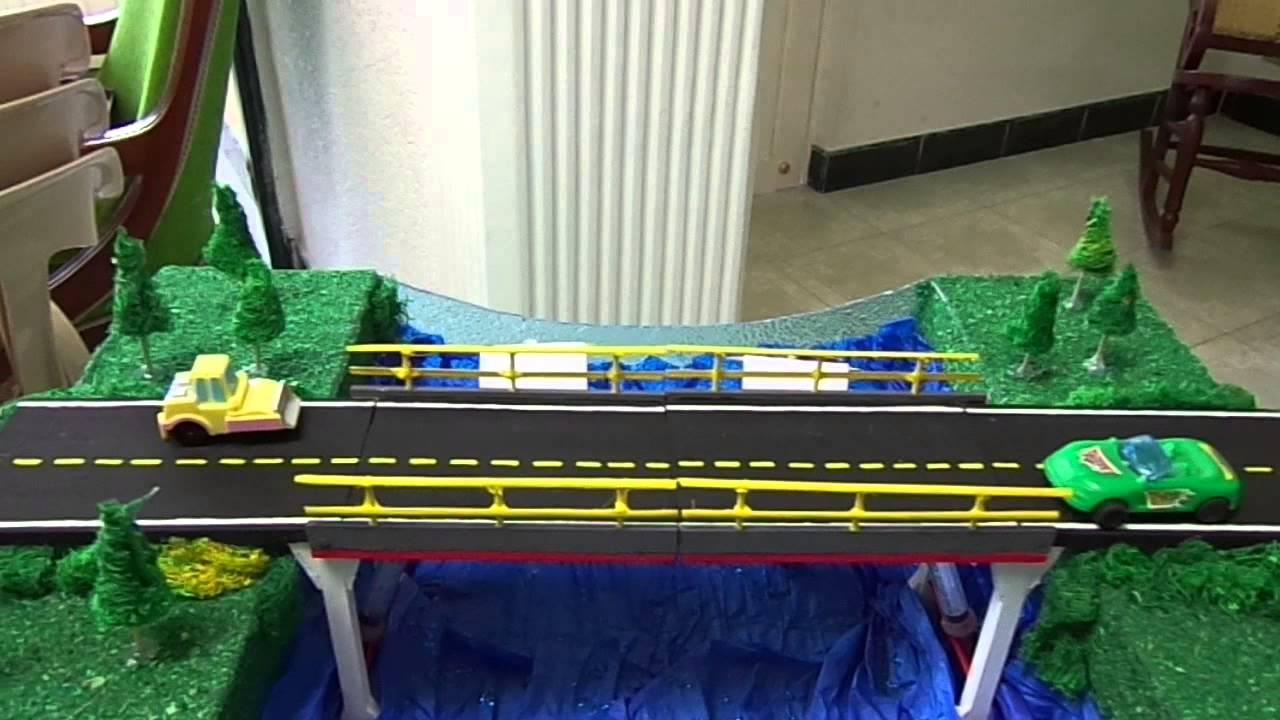 Puente hidraulico youtube for Materiales para un vivero