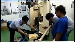 Process Polyurethane PU Lagging for Pulley Roller Shaft Elastomer Casting Machine