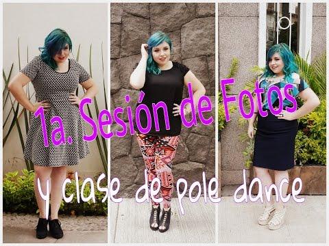 Mi primera sesión de fotos  You Clothing!!   Clase de Pole Dance