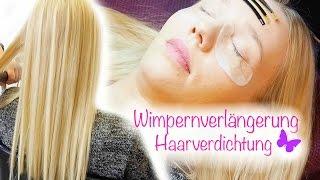 Wimpern & Haarverlängerung | Färben in der Schwangerschaft? | Vorher/Nachher | Isabeau