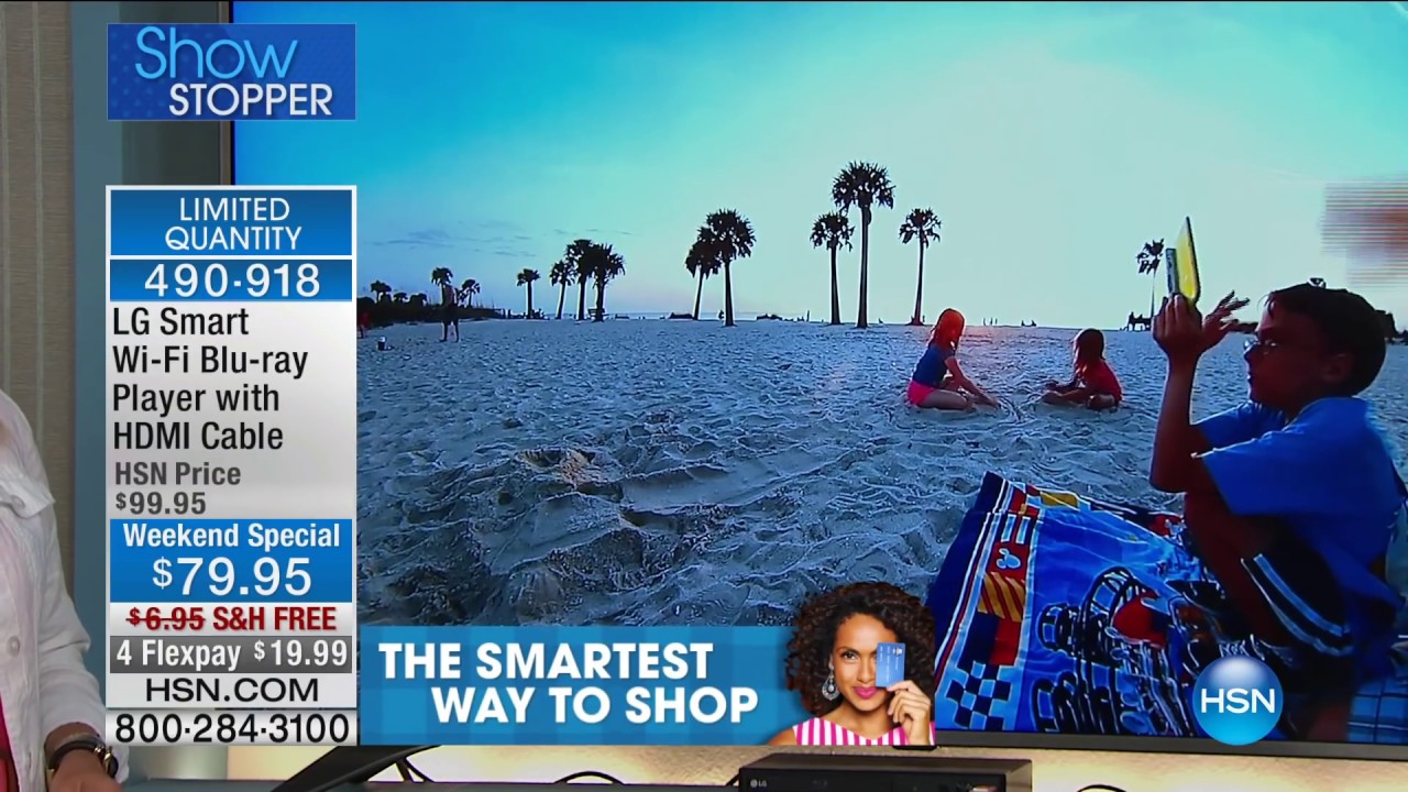 LG Smart WiFi Bluray/DVD Player with HDMI Cable - YouTube