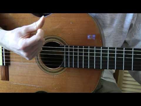 Luce (Renan) - La Lettre (1 - accords & rythmique du couplet)