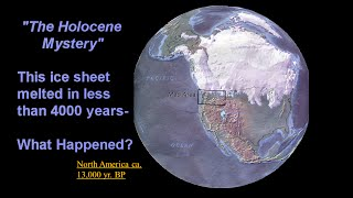 """""""IceAge Shift:10,000-yr Collection of Clues to decode a Holocene Mystery"""