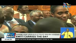 Supreme Court upholds election of Homa Bay governor